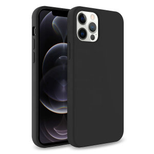 Custom moulded for the iPhone 12 Pro, this black soft silicone case from Olixar provides excellent protection against damage as well as a slimline fit for added convenience.