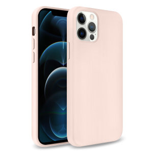 Custom moulded for the iPhone 12 Pro Max, this pastel pink soft silicone case from Olixar provides excellent protection against damage as well as a slimline fit for added convenience.
