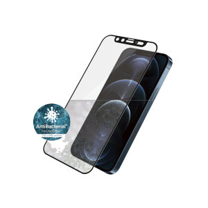 PanzerGlass iPhone 12 Pro Max CamSlider Glass Screen Protector - Black