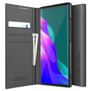 The Araree Mustang Diary Case in grey combines synthetic leather, premium feel and lightweight design to provide all round protection for your Samsung Galaxy Note 20. With 3 Card slots & 2 pockets for cash/notes this is the perfect everyday case.