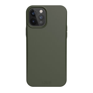 The Urban Armour Gear biodegradable Outback for the iPhone 12 Pro Max features a protective TPU case in Olive with cleverly conceived anti-skid pads & a lightweight but rugged frame - all in one sleek protective package, whilst being eco-friendly.