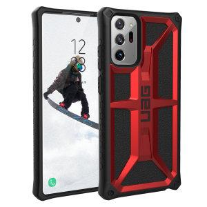 UAG Monarch Samsung Galaxy Note 20 Ultra Tough Case - Crimson