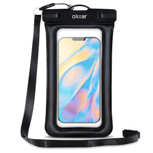 The Olixar Action Waterproof Case for iPhone 12 mini is a protective case providing 100% smartphone waterproofing and touchscreen operation up to a size of 6.8 inches for activities that require near water or even underwater adventures.