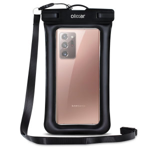 Olixar Samsung Galaxy Note 20 Ultra Waterproof Pouch - Black