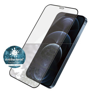 PanzerGlass iPhone 12 Pro Tempered Glass Screen Protector - Black