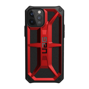 The Urban Armour Gear Monarch in Crimson for the iPhone 12 Pro is quite possibly the king of protective cases. With 5 layers of premium protection and the finest materials, your iPhone 12 Pro is safe, secure and in some style too.