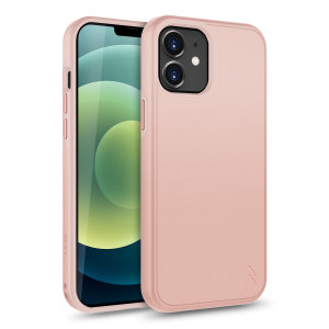 The sleek division series for the iPhone 12 mini. The rose gold finish gives you protection for your phone in style. This case is made for pure luxury and style, keeping your iPhone 12 mini protected throughout your daily activities.