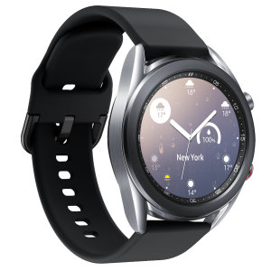 Treat your brand new Samsung Watch to the ultra-high quality soft silicone strap from Olixar in black. Comfortable, durable and stylish, this strap is the perfect way to personalise your Samsung Watch. Strap is 20mm which is a Small/Medium.