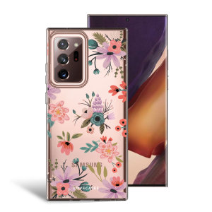 Take your Samsung Galaxy Note 20 Ultra 4G/5G to the next level with this ditsy flower print phone case from LoveCases. Cute but protective, the ultra-thin case provides slim fitting and durable protection against life's little accidents.