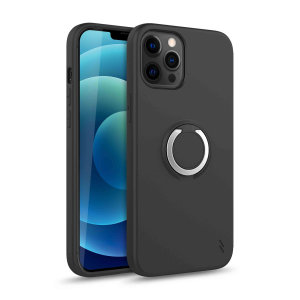 The Zizo revolve case in magnetic black brings style & function together into a slim design whilst full protecting your iPhone 12 Pro from accidental drops. The ring at the back doubles as a kickstand to watch your favourite series conveniently.