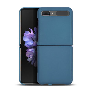 Protect your Samsung Galaxy Z-Flip 5G from bumps, scrapes and drops with the Fortis case in blue from Olixar. Featuring a protective hybrid design with an inner TPU section and an outer impact-resistant exoskeleton.