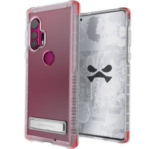 Custom moulded for the Motorola Edge Plus, the Ghostek tough case in Clear provides a slim fitting, stylish design and reinforced corner protection against shock damage, keeping your Motorola Edge Plus looking great at all times.