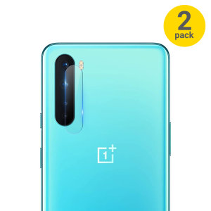 Olixar OnePlus Nord Tempered Glass Camera Protector - Twin Pack