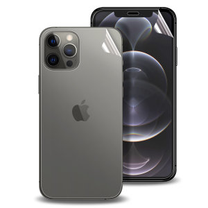Olixar Front And Back iPhone 12 Pro TPU Screen Protectors