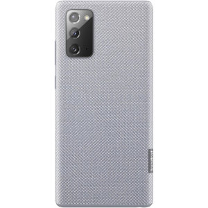Protect your Samsung Galaxy Note 20 5G with this Official Kvadrat case in Gray. Stylish and protective, this case is the perfect accessory for your Samsung Galaxy Note 20 5G.