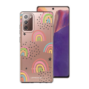 Take your Samsung Galaxy Note 20 5G to the next level with this Abstract Rainbow phone case from LoveCases. Cute but protective, the ultra-thin case provides slim fitting and durable protection against life's little accidents.