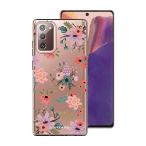 Take your Samsung Galaxy Note 20 5G to the next level with this ditsy flower phone case in multi from LoveCases. Cute but protective, the ultra-thin case provides slim fitting and durable protection against life's little accidents.