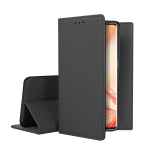 Oppo Find X2 Pro Leather Style Wallet Stand Case - Black