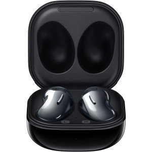 Samsung brings you the next generation of headphones with the all new Samsung Galaxy buds Live Black. Created with cutting edge technology these wireless Galaxy Buds are superior in sound quality, microphone quality and being convenient all round.