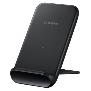 Official Samsung Foldable Fast Wireless Charger Stand 9W - Black