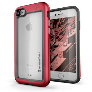 Ghostek Atomic Slim iPhone SE 2020 Tough Case - Red