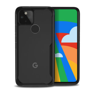 Olixar NovaShield Google Pixel 5 Bumper Case - Black