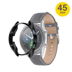 Olixar Samsung Galaxy Watch 3 Bezel Protector - Black 45mm