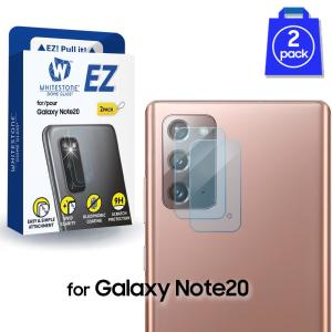 Protect your Samsung Galaxy Note 20 5G's protruding camera with the Whitestone Camera Protector. This EZ Camera Screen Protector Tempered Glass is #1 in protecting your entire Samsung Galaxy Note 20 5G back Camera.