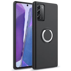 The Zizo revolve case in Black brings style and function together into a slim design whilst full protecting your Samsung Galaxy Note 20 5G from accidental drops. The ring at the back doubles as a kickstand to watch your favourite series conveniently.