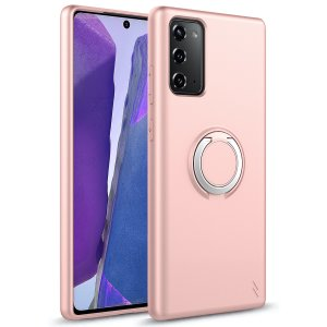 The Zizo revolve case in Rose Quartz brings style and function together into a slim design whilst full protecting your Samsung Galaxy Note 20 5G from accidental drops. The ring at the back doubles as a kickstand to watch your favourite series conveniently