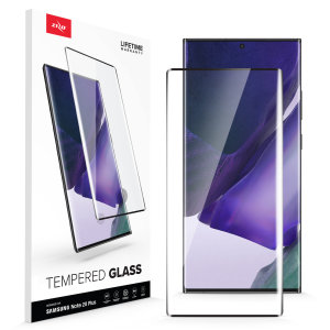 Protect all of your Samsung Galaxy Note 20 Ultra's beautiful display with the edge to edge tempered glass screen protectors from Zizo. With superb clarity and durable construction this is the perfect way to keep your screen looking good.