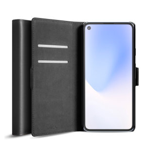 All the benefits of a wallet case but far more streamlined. The Olixar Genuine Leather case in black is the perfect partner for the Google Pixel 4a 5G owner on the move. What's more, this case transforms into a handy stand to view media.