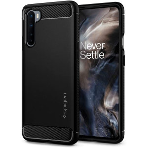 Spigen Rugged Armour OnePlus Nord - Black
