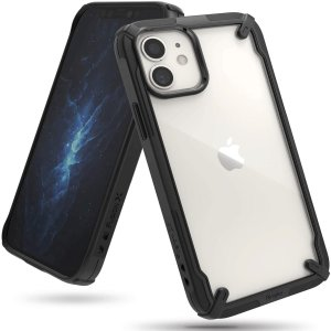 Keep your iPhone 12 mini protected from bumps & drops with the Rearth Ringke X Design tough case in black. Featuring a 2-part, Polycarbonate design, this case lives up to military drop-test standards whilst being incredibly stylish.