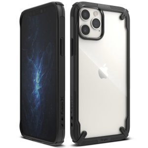 Keep your iPhone 12 Pro protected from bumps & drops with the Rearth Ringke X Design tough case in Black. Featuring a 2-part, Polycarbonate design, this case lives up to military drop-test standards whilst being incredibly stylish