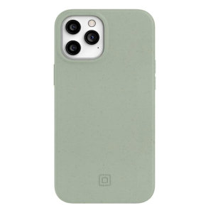 Help reduce the amount of plastic in landfill with this stunning, plant-based, eucalyptus Incipio Organicore 2.0 case for the iPhone 12 Pro Max. It has all the best features of a case, as well as being 100% compostable, making it a perfect alternative