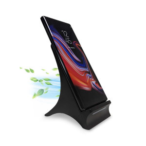 Want to be able to use your phone whilst it charges and not worry about overheating? Well, with the Olixar 10W Wireless Charging Stand With Cooling Fan you can! The fan will keep your phone cool, which helps you keep your battery healthier for longer!