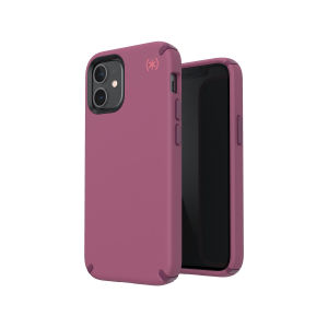 The Presidio2 Pro is a stylish burgundy iPhone 12 mini case that provides premium protection against drops and scratches. This case is lightweight and slim making it convenient, as well as sophisticated with a premium style.