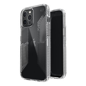 Speck iPhone 12 Pro Max Presidio Perfect-Clear Grip Case - Clear