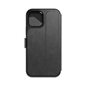 This iPhone 12 mini case from Tech 21 has a beautiful black folding design, which features a secure magnetic closure to protect your phone from all angles. Inside, there are 2 slots to store your credit cards and ID safely.