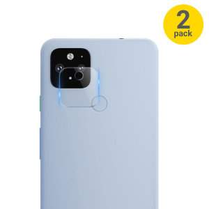 Olixar Google Pixel 4a 5G Tempered Glass Camera Protectors - 2 Pack