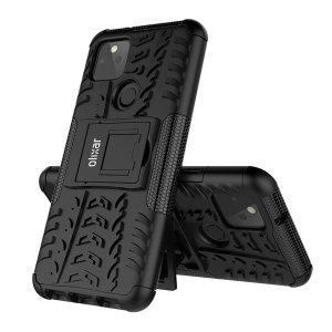 Protect your Google Pixel 5 from bumps and scrapes with this black ArmourDillo case. Comprised of an inner TPU case and an outer impact-resistant exoskeleton, the Armourdillo not only offers sturdy and robust protection, but also a sleek modern styling.