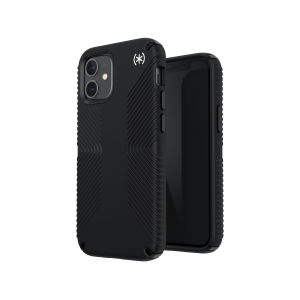 The Presidio2 Grip is a stylish, sophisticated black iPhone 12 case that provides premium protection against drops and scratches. This case is lightweight and slim making it convenient for all users.