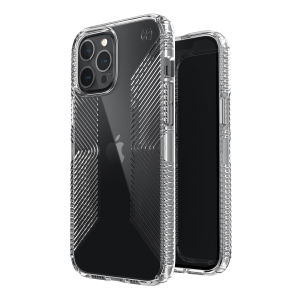 The Presidio Perfect-Clear Grip is a stylish iPhone 12 Pro case that provides premium protection against drops and scratches. This case is lightweight and slim making it convenient, as well as sophisticated with easy grip to help avoid any unwanted slips!