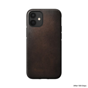 Designed to give your iPhone 12 mini a classic, yet bold new look that . This sturdy, rustic brown rugged Case is built with Horween leather from one of America's oldest tanneries.