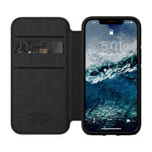 Rather than having a wallet, have the Nomad iPhone 12 mini Rugged Folio leather case. It comes with 3 slots for your cards, 1 for cash and 360 protection from lifes little accidents. Its sleek, classic Horween leather ages with you, making it fully unique