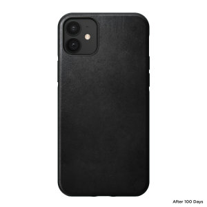 Designed to give your iPhone 12 a classic, yet bold new look. This sturdy, black rugged Case is built with Horween leather from one of America's oldest tanneries.