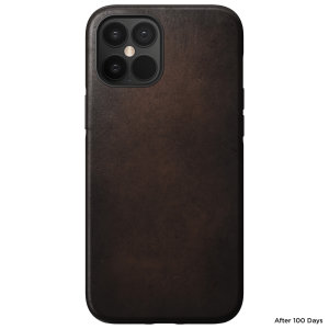 Designed to give your iPhone 12 pro max a classic, yet bold new look. This sturdy, rustic brown rugged Case is built with Horween leather from one of America's oldest tanneries.