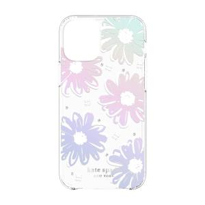 The Kate Spade New York iPhone 12 daisy iridescent foil case is perfect for adding that extra bit of style to your day. It provides a beautiful aesthetic, as well as providing excellent shock absorption and scratch resistance.
