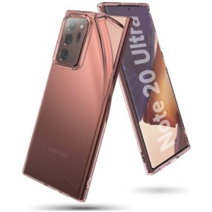 Protect the back and sides of your Samsung Galaxy Note 20 Ultra with this incredibly durable and clear backed Air Case by Ringke. Compatible with 4G and 5G variants. The stunning rose bronze will go with every outfit and add extra style to your day.